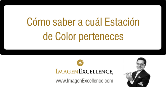 Descubre tu estación de color o colorimetría