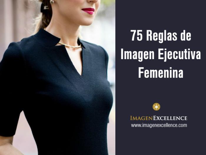 Reglas de Imagen Profesional Mujeres