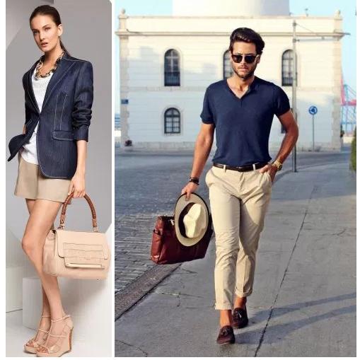 Como Combinar Color Azul Marino Imagen Excellence - Colores-que-combinan-con-beige