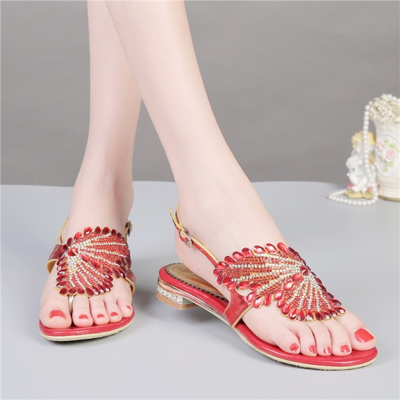 2016-new-fashion-rhinestone-font-b-sandals-b-font-red-font-b-flat-b-font-crystal