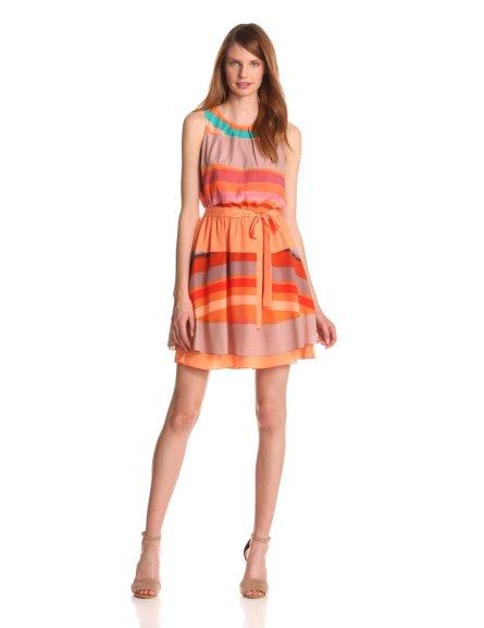 vestidos-cortos-para-primavera-rayado