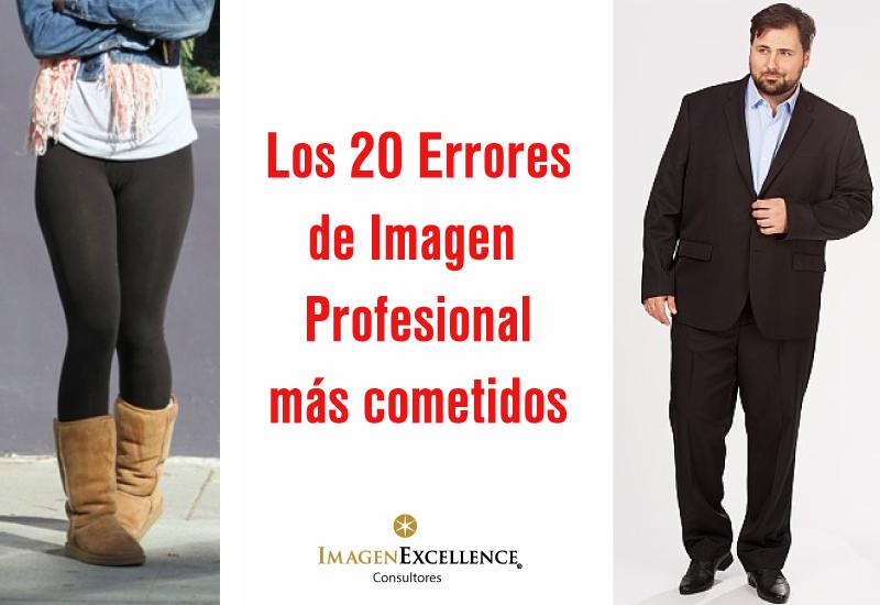 Los 20 errores de imagen profesional más cometidos