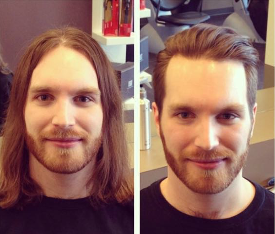 Corte cabello moderno y elegante
