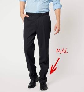 Error largo pantalon hombres