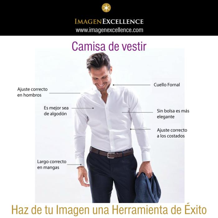 Reglas Camisas de Vestir Hombres