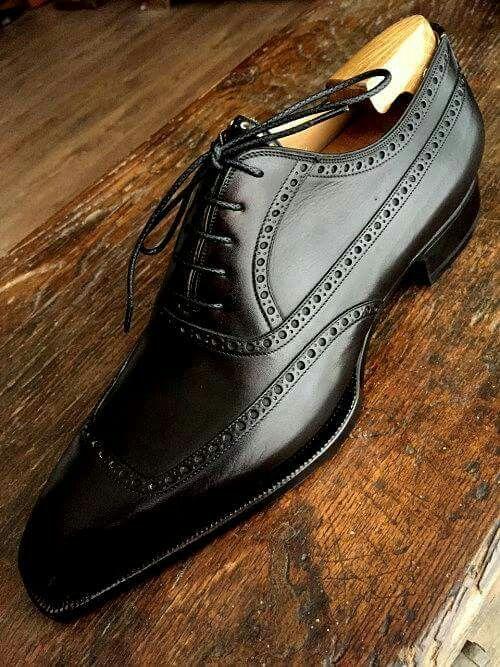 Zapatos hombre con horma madera